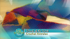 Crochet Entrelac Scarf