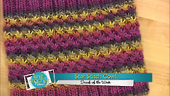 Star Stitch Cowl