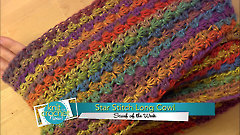 Star Stitch Long Cowl