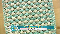 Knit Blackberry Stitch
