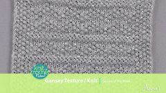 Knit Gansey Texture