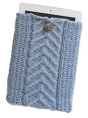 Cable Knit iPad Sleeve