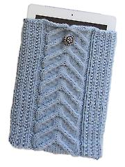 Cable Knit iPad Sleeve