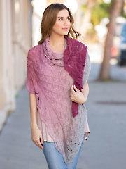 Pristine Knit Shawl