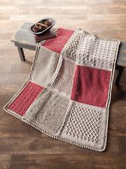 Novo Block Crochet Afghan