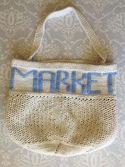 Knit Market Bag