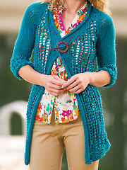 Cozy Lace Cardigan