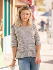 Samsara Lace Crochet Pullover