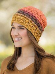 Starry Stripes Knit Beanie
