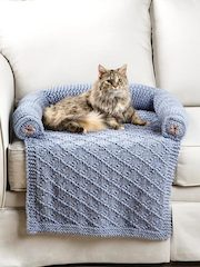 Knit Pet Couch Cover