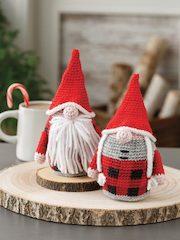 Rustic Gnome Ornaments