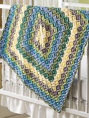 Bavarian Baby Blanket