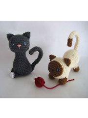 Crochet Amigurumi Kitten