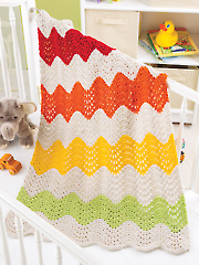 Ripple Stripe Blanket