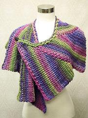 Star-Zag Crochet Shawl