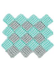 Crochet Entrelac Stitch