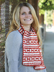 Nascha Crochet Scarf