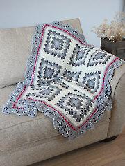 Geometric Crochet Afghan