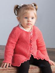 Sideways Baby Cardi