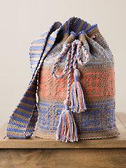 Drawstring Tapestry Bag