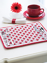 Interlocking Crochet Reversible Place Mat