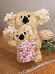 Koala & Baby in a Bag