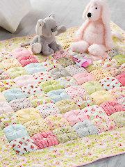 & Easy Puff Baby Quilt : puff baby quilt - Adamdwight.com