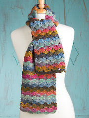 Color Wave Scarf