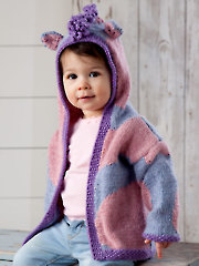 Purple Pony Cardigan