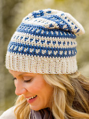 Dotted Stripes Hat