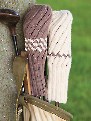 Knit Spiral Rib Golf Club Cover