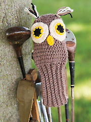 Owl Golf Club Cover