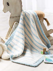 Blue Striped Blanket