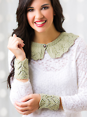 Knit Collar & Cuffs