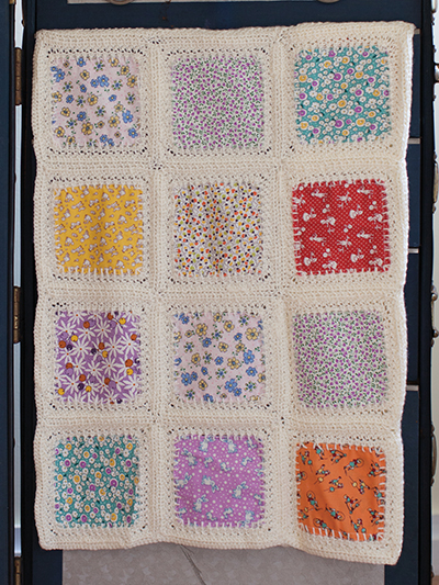 Squared Away Fabric Baby Blanket