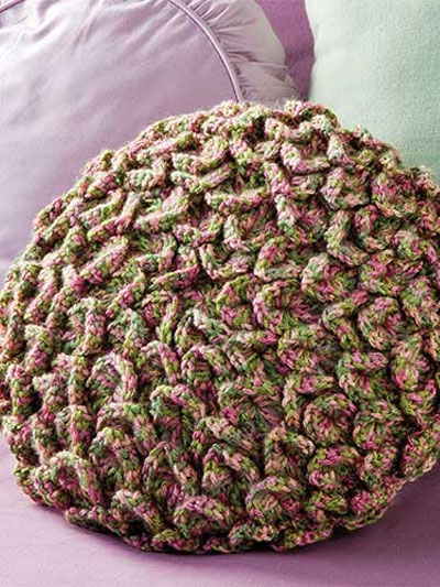 Ruffled Flower Pillow