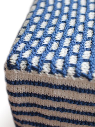 Knit Footstool