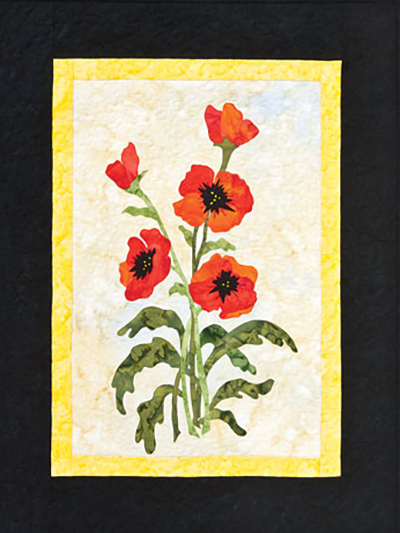 Ode to Poppies Wall Hanging
