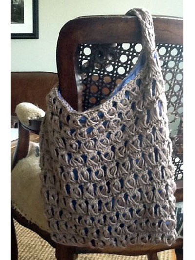 Broomstick Lace Bag
