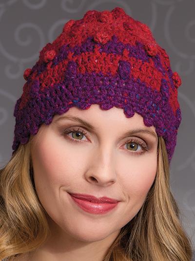 Bobble Tweed Hat
