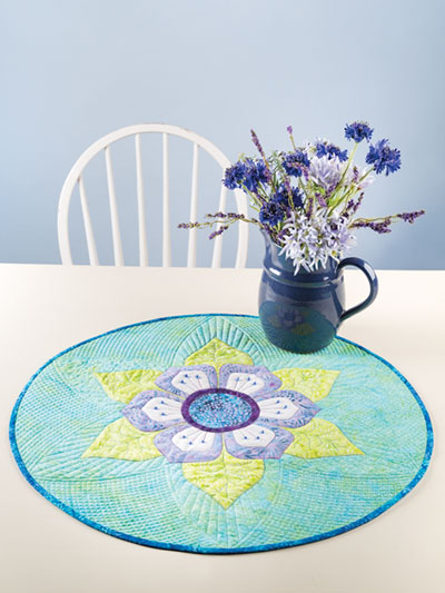 Lotus Blossom Table Topper