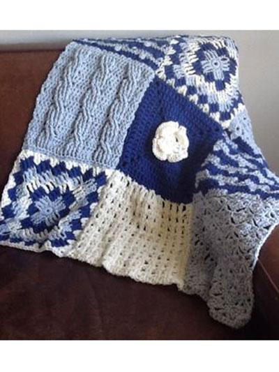 Season 2 Afghan Square of the Week Crochet
