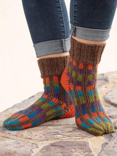 Rainy Day Reading Socks