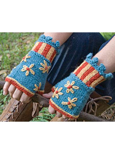 Colorful Fingerless Gloves