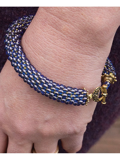 Spiral Bead Bracelet