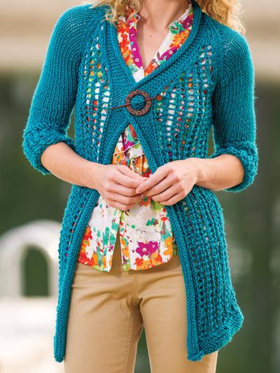 Cozy Lace Cardigan