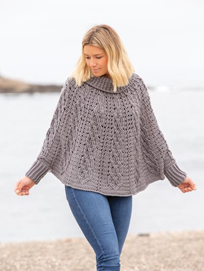 Moonglade Crochet Poncho