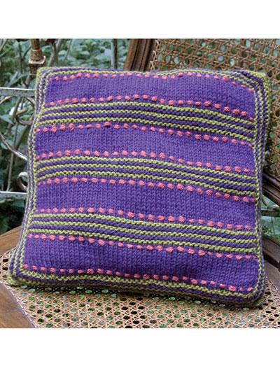 Garter Ridge Pillow