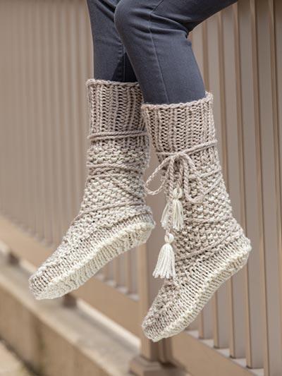 Mukluk Knit Booties