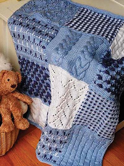 Season One Knit Afghan